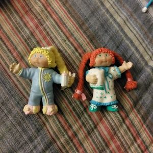cabbage patch kids Other - **VINTAGE** PVC CABBAGE PATCH FIGURES